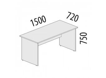Рабочий стол Альфа 63.10 для офиса