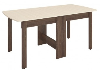 Раскладной стол-книжка Колибри 14 дуб кобург, дуб сантана