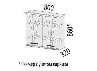 Шкаф-сушка кухонный Афина 18.02