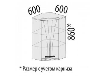 Шкаф кухонный угловой Афина 18.20