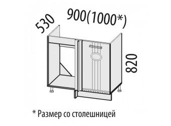 Шкаф под мойку угловой Афина 18.52