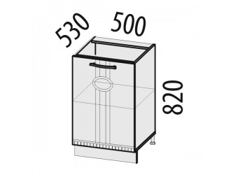 Шкаф кухонный Афина 18.61 (под мойку)