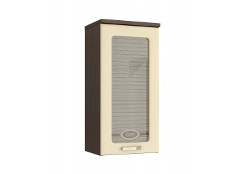 Шкаф-витрина кухонный навесной Аврора 10.04