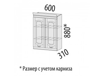 Шкаф-сушка кухонный Глория 03.01