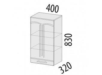 Навесной кухонный шкаф Каролина 11.03 правый