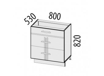 Шкаф кухонный напольный Каролина 11.92 (с системой плавного закрывания)