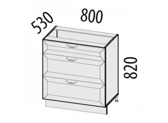 Шкаф кухонный напольный Оливия 71.67