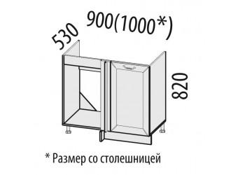 Шкаф под мойку угловой Оливия 72.52