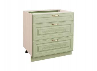 Шкаф кухонный напольный Оливия 72.92 (с системой плавного закрывания)