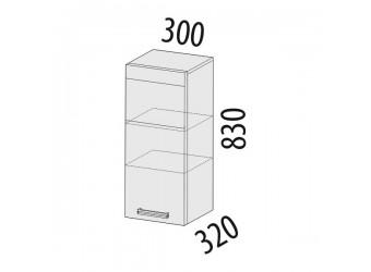 Навесной кухонный шкаф Оранж 09.07