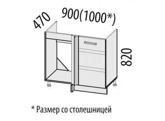 Шкаф под мойку угловой Палермо 08.52.1