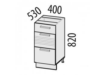 Шкаф кухонный напольный Рио 16.90 (с системой плавного закрывания)