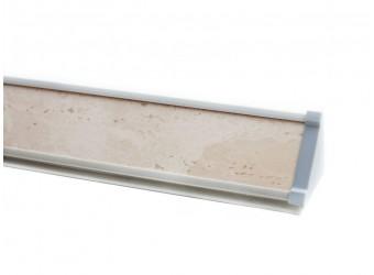 Плинтус для столешницы ПЛ 13 с заглушками (150 см)