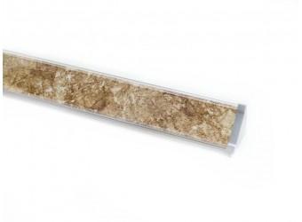 Плинтус для столешницы ПЛ 14 с заглушками (150 см)