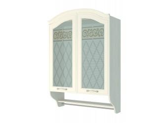 Шкаф-витрина кухонный навесной Тиффани 19.15