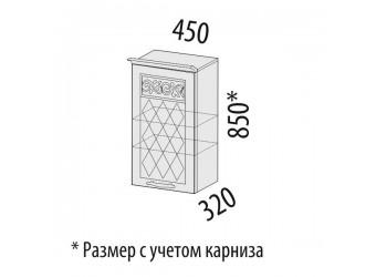Навесной кухонный шкаф Тиффани 19.22
