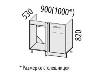 Шкаф под мойку угловой Тропикана 17.52