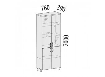 Шкаф-витрина Лидер 82.13 для сувениров