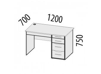 Компьютерный стол Мегаполис 55.15