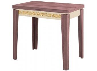 Раздвижной обеденный стол Орфей 26.10 лайт ясень шимо темный, дуб кобург