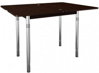 Раздвижной обеденный стол Орфей 8 дуб венге