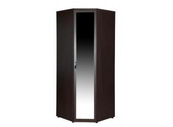 Угловой шкаф для одежды с зеркалом Ривьера 95.09 правый