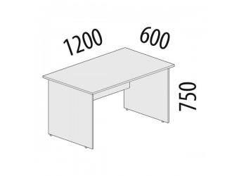 Рабочий стол Рубин 42.43 для офиса