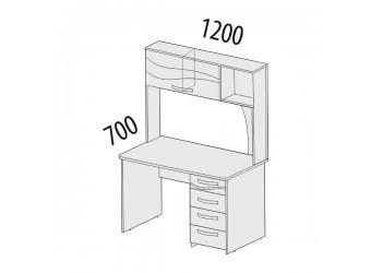 Компьютерный стол Соната 98.26