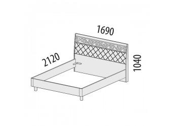 Двуспальная кровать Тиффани 93.01