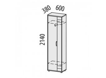 Шкаф для одежды Триумф 36.01 левый
