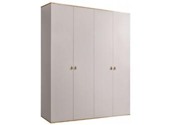 Четырехстворчатый шкаф для одежды Rimini РМШ2/4 (слоновая кость)