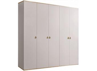 Пятистворчатый шкаф для одежды Rimini РМШ2/5 (слоновая кость)