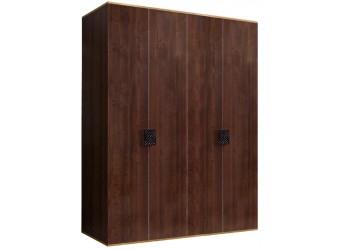 Четырехстворчатый шкаф для одежды Diora ДШ2/4 (орех орегон)