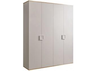 Четырехстворчатый шкаф для одежды Diora ДШ2/4 (слоновая кость)