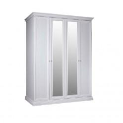 Четырехстворчатый шкаф для одежды с зеркалом Амели АМШ1/4 (дуб)
