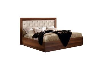 Двуспальная кровать с мягкой спинкой Амели АМКР140-2 (ноче)