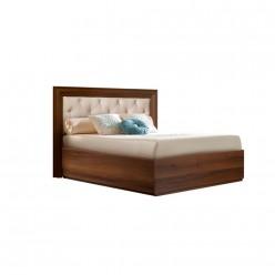 Односпальная кровать с подъемным механизмом Амели АМКР120-6[3] с мягкой спинкой (ноче)