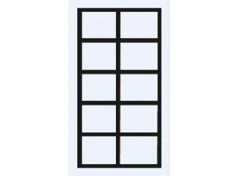 Двухстворчатый шкаф для одежды Челси Элеганс ЧШ2/2(Э) (орех, розовый)