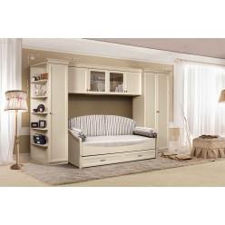 Мебель для детской Амели (штрих-лак)
