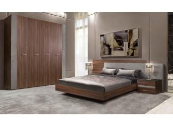 Спальня Челси Элеганс 2 (орех каннеро, серый)
