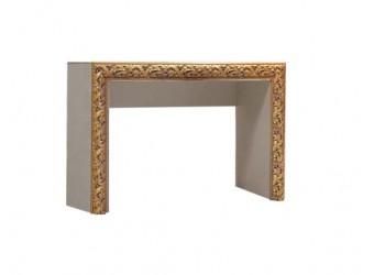 Туалетный столик Тиффани Премиум ТФСТ-1(П) (капучино, золото)