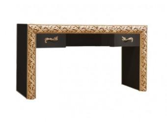 Туалетный столик Тиффани Премиум ТФСТ-2(П) (черный, золото)